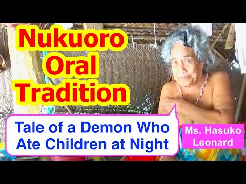 Tale of a Demon Who Ate Children at Night, Nukuoro