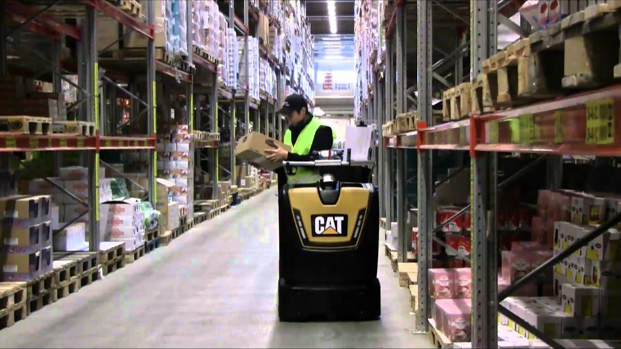 Low Level Order Picker - Cat Lift Trucks