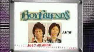 "DAHIL MAHAL KITA-"" BOYFRIENDS ""VOCALIST JOEY ABANDO(joeyabando@yahoo.com)"