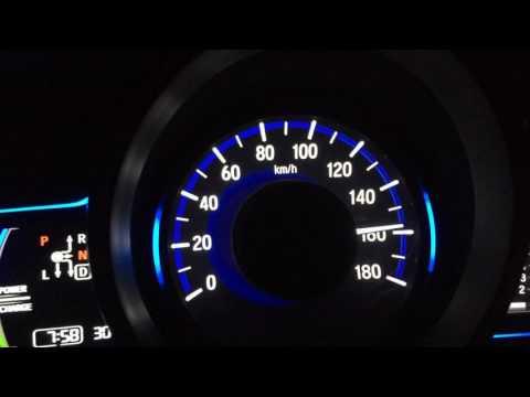 Honda Fit HYBRID L (GP5 - 2014) 80 - 180 km/h