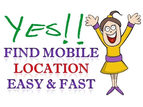 How to Track a cell Phone or Mobile Number Location for Free & Easy