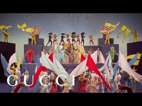 Showtime - Campaña primavera/verano 2019 de Gucci. Un homenaje a la edad de oro de los musicales de Hollywood