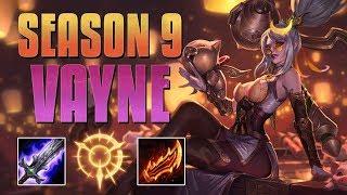 On-Hit Vayne is BROKEN!! - Season 9 Vayne Guide! - League of Legends