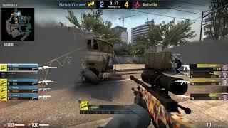 CS:GO POV Demo Na'Vi S1mple (30/8) vs Astralis (de_overpass)