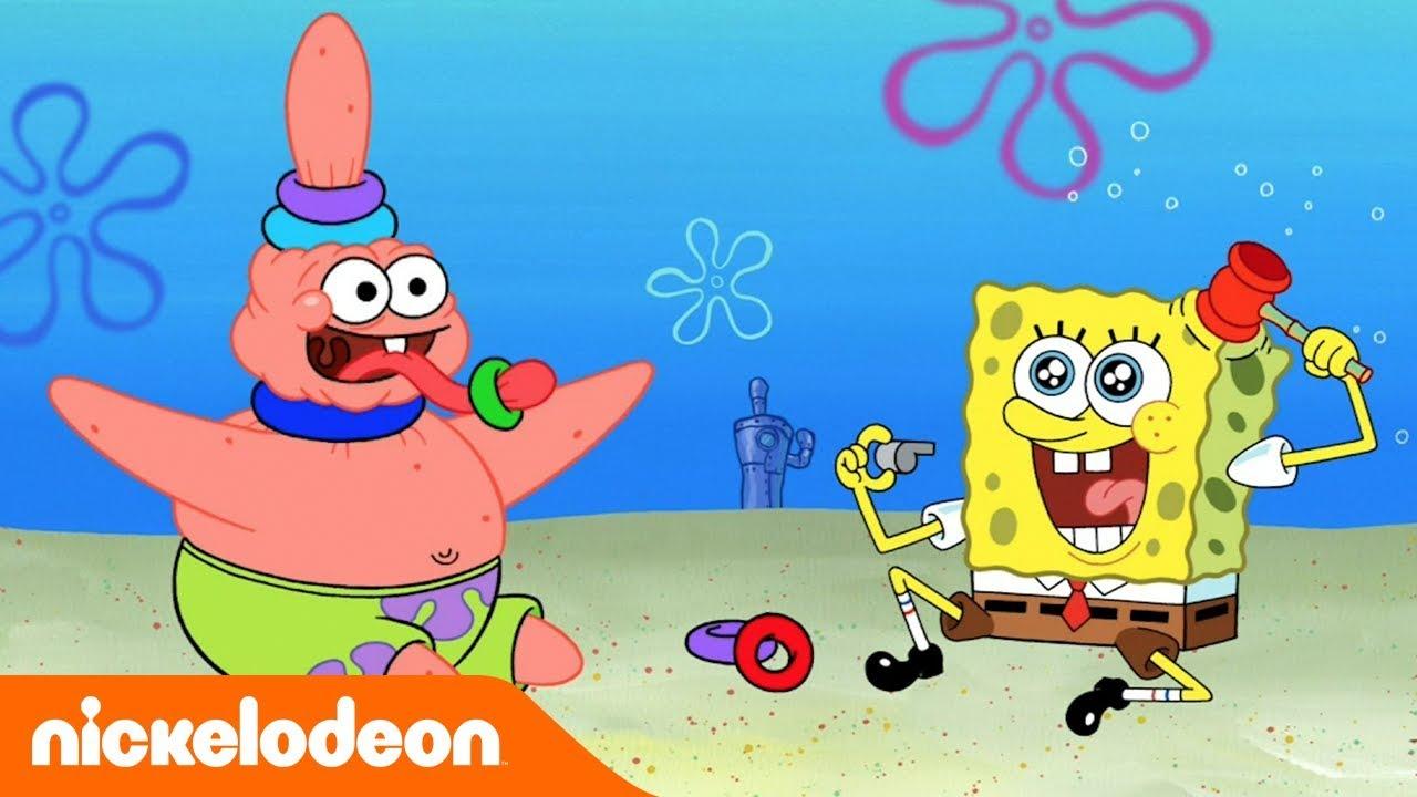 SpongeBob Kanciastoporty | Stare zabawki | Nickelodeon Polska