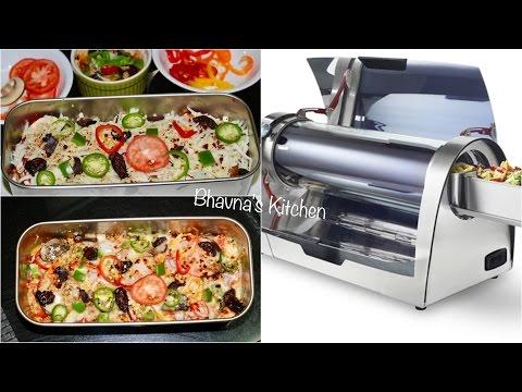 Sun Baked Quinoa Pizza Casserole with GoSun Solar Grill | Bhavna's Kitchen