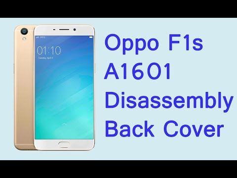 hot sale online 32f6c ea6b1 Oppo F1s A1601 disassembly back cover - YouTube
