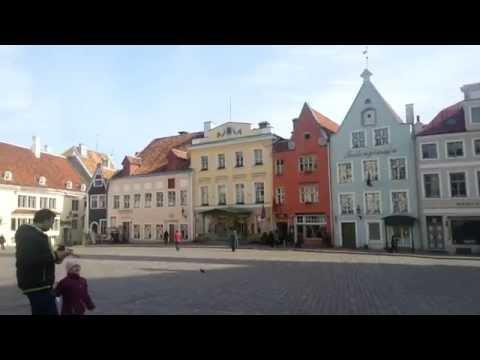 Town Hall Square Tallinn 2014