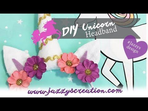 DIY Unicorn Headband (10 simple steps)