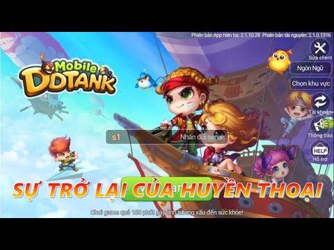 DDTank Mobile - Sự Trở Lại Của Huyền Thoại Game Bắn Súng Tọa Độ Phiên Bản Toàn Cầu