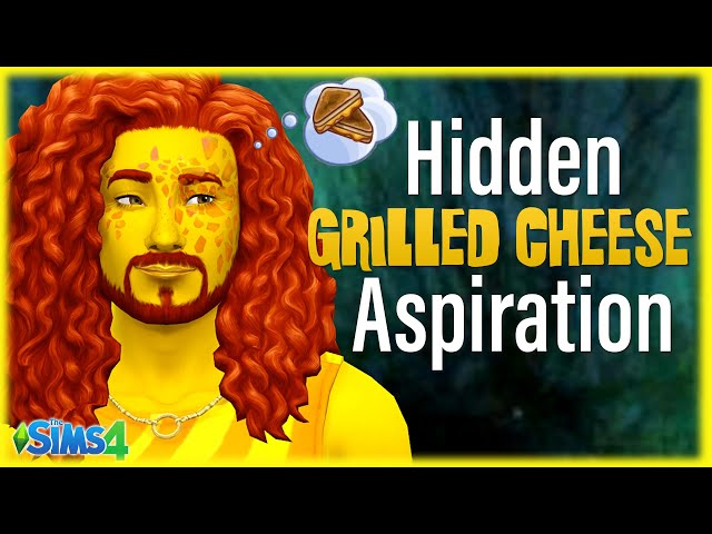 🧀Speed Running the SECRET Grilled Cheese Aspiration in Sims 4 for #GrilledCheeseDay