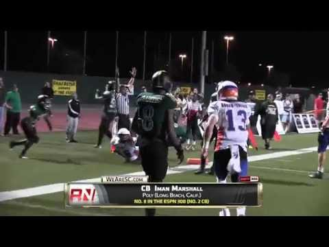 Video: Iman Marshall and Jackie Jones highlights vs. Westlake - 9/12/14