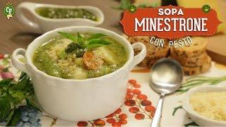 ¿cómo Preparar Sopa Minestrone Con Pesto? - Cocina Fresca