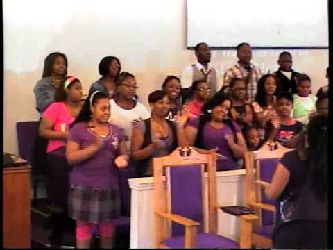 "DTM's Youth & Young Adult Choir singing ""Clap Your Hands ..."