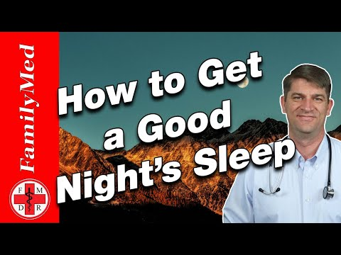 HOW TO FIX INSOMNIA | 10 Steps to a Better Night's Sleep!