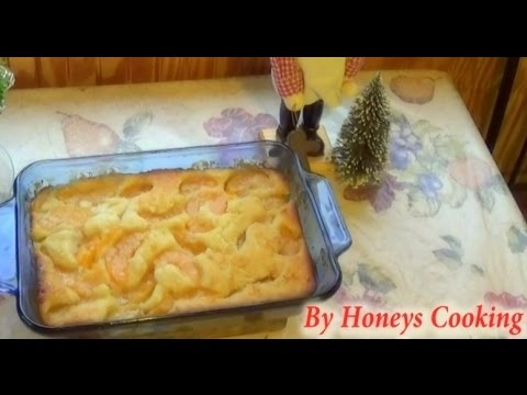 Easy Peach Cobbler Recipe In 3 Steps