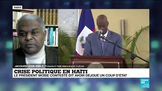 Crise politique en Haïti : le président Moïse contesté dit avoir déjoué un coup d'État