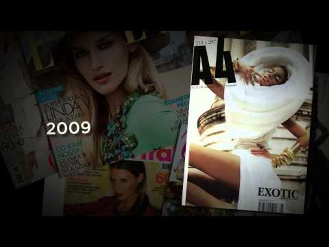 Linda Vojtova - Magazine covers, Music : Vadim Petrov