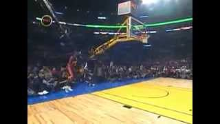 Jason Richardson performance in 2004 NBA slam dunk contest