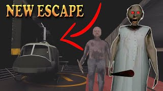 I Escaped Granny's House In A HELICOPTER!! New Ending Ganny 2 New Update!