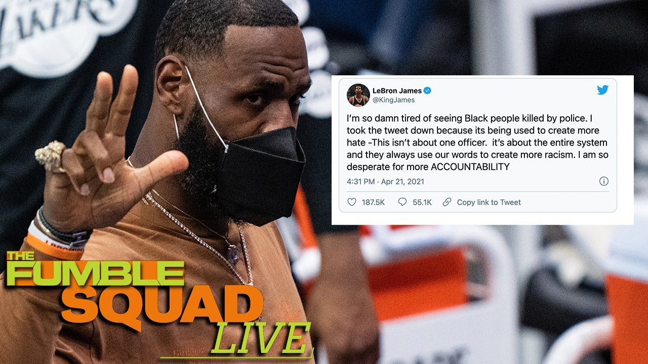 LeBron James explains why he deleted tweet about police shooting ...