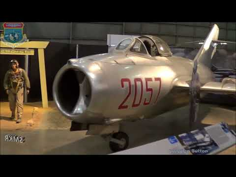 VLOG Trip to the Air Force Museum Part 5 - Jet Age @ SMKR