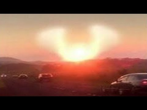 Nibiru Planet X News Update 18th Dec 2017, Nibiru on the California Sky, Look like phoenix appear