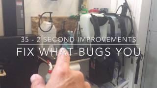 30+ 2 Second Lean Improvements