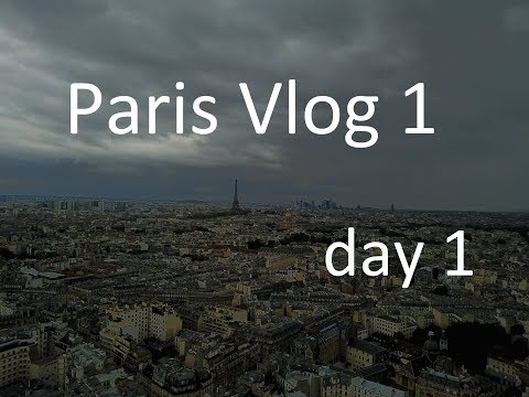 Paris vlog - day 1 Musée des Arts et Métiers, Luxembourg gardens