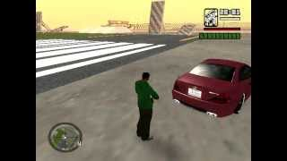 Grand Theft Auto: San Andreas: License Plates Say My Name