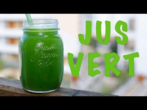 jus-vert-a-l'extracteur-│ananas-pomme-epinard-concombre-céleri-gingembre