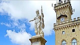 Сан Марино. Первое впечатление(Первое впечатление от Сан Марино – это нереально красивое место! Любоваться со стен замка его окрестностя..., 2016-02-16T10:05:27.000Z)