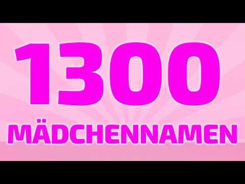 1300 beliebte und schöne Mädchennamen