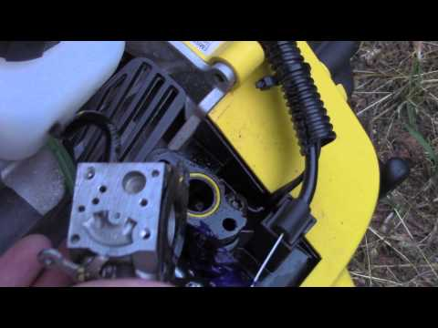 How To Clean A 2- Stroke Carburetor   DoStuffRight