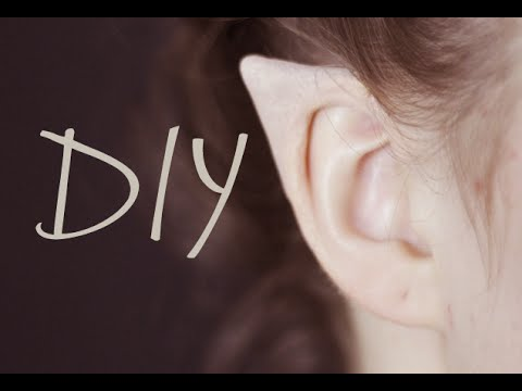 8324842eb DIY Elf Ears + How to Apply Them - YouTube