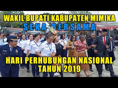 HARHUBNAS TAHUN 2019 TIMIKA PAPUA