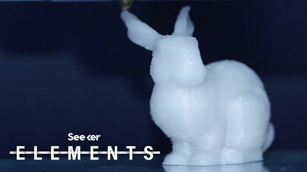 This 3D-Printed Bunny could be the Future of Data Storage