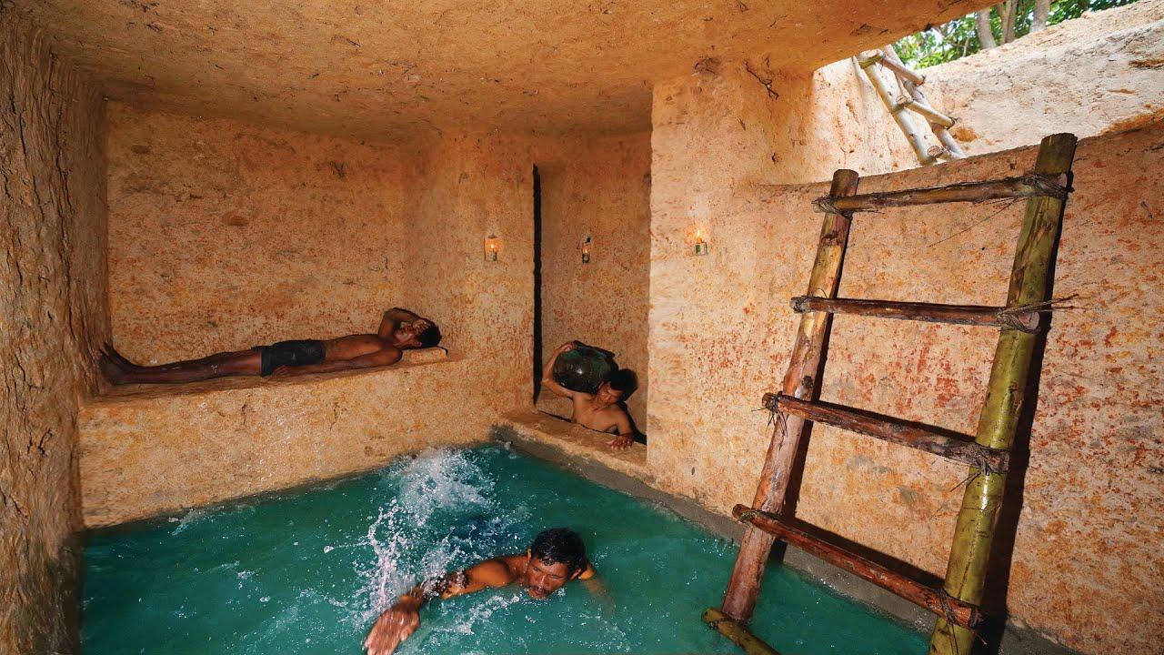 Dig Ground to Build Most Ancient Secret Underground Castle