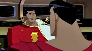 Shazam leva bronca do Superman (Dublado)