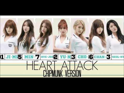 AOA - Heart Attack [Chipmunk Version]