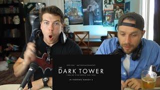 THE DARK TOWER Trailer Reaction (Stephen King's 'The Dark Tower' Movie Trailer)