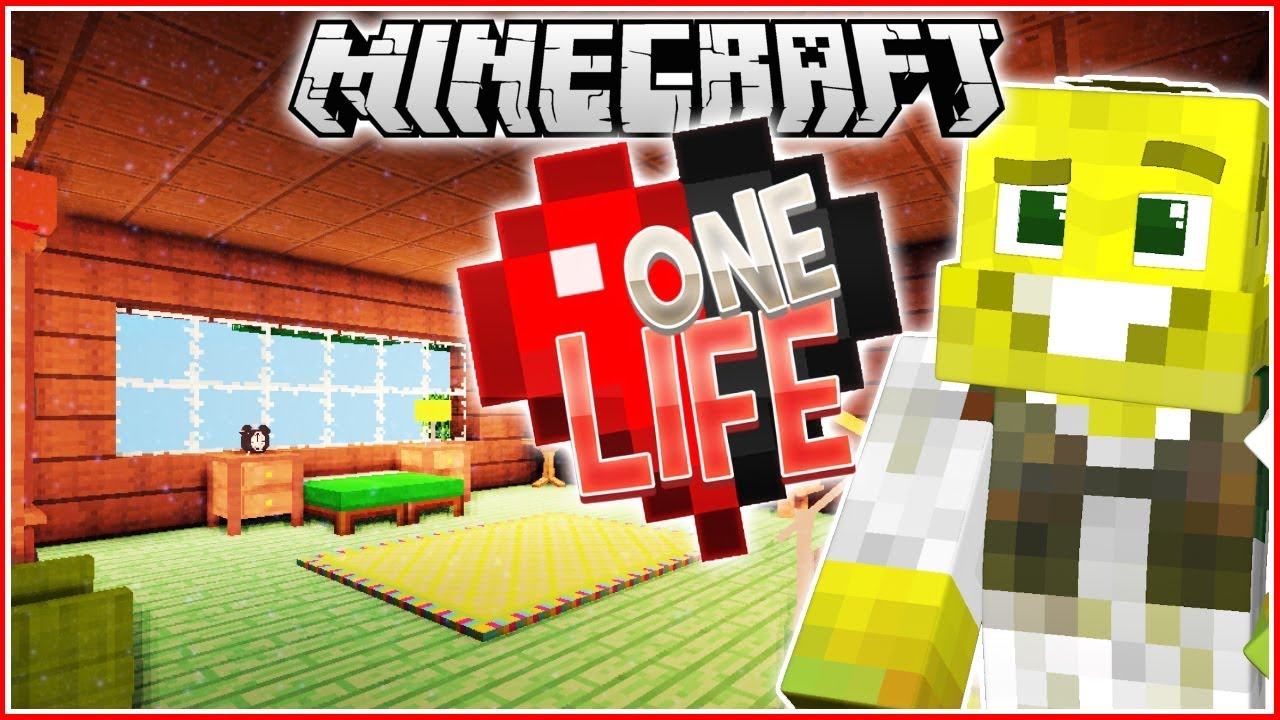 Decorating My House!! | Minecraft One Life | Ep.10 - YouTube