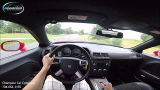 Supercharged Dodge Challenger SRT-8 Test Drive