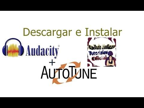 how to add auto tune evo to audacity