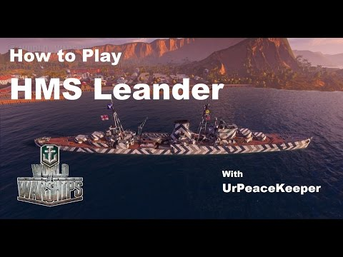 How To Play The HMS Leander In World Of Warships