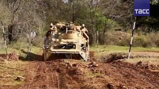 Экстремальное вождение на боевой технике