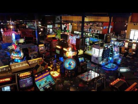 boomers arcade tour boca raton fl youtube