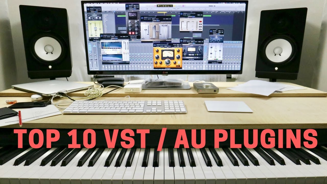 TOP 10 VST / AU AUDIO PLUGINS 2017 - for mixing, mastering and producing
