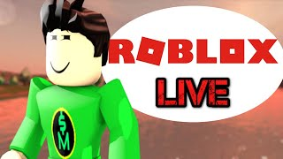 🔴| Roblox: Playing Games! Come Join Me!| Live Stream (8/16/19)🔴