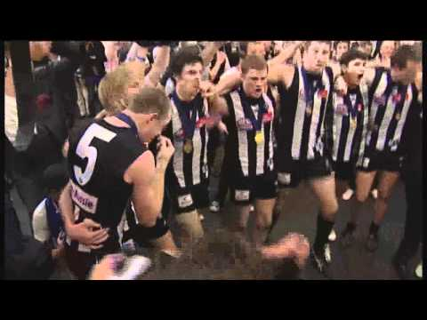 Collingwood Players Sing Theme Song Grand Final 2010